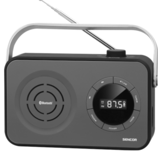 PRODUKTOVÝ TIP: Radiopřijímač SENCOR SRD 3200 a malý společník nabitý moderními technologiemi